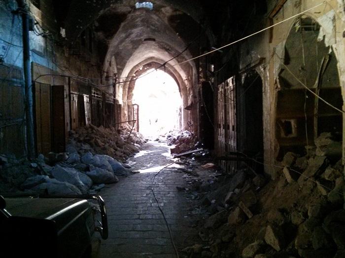 جولة ( نور سورية ) داخل المسجد الأموي في مدينة حلب