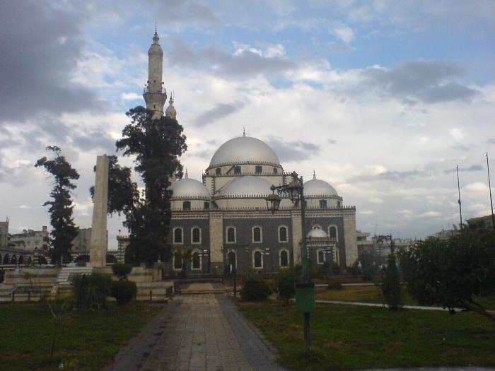 جامع خالد بن الوليد -حمص - رمز وتاريخ-  7 هـ
