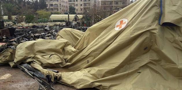 روسيا تحمل الولايات المتحدة مسؤولية قصف المشفى العسكري الروسي