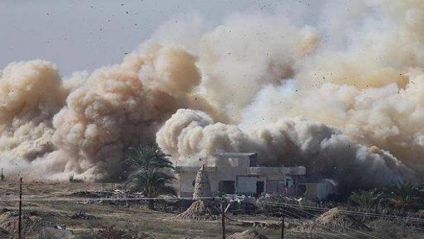 أخبار سوريا_ نسف مبنى قيادة عمليات خان طومان بريف حلب، وأكثر من مليون شخص أصيبوا خلال الحرب في سورية_ (18/19-12- 2014)