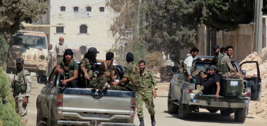 جيش الفتح: أكثر من 150 قتيلاً من قوات الأسد وعناصر حزب الله جنوب حلب