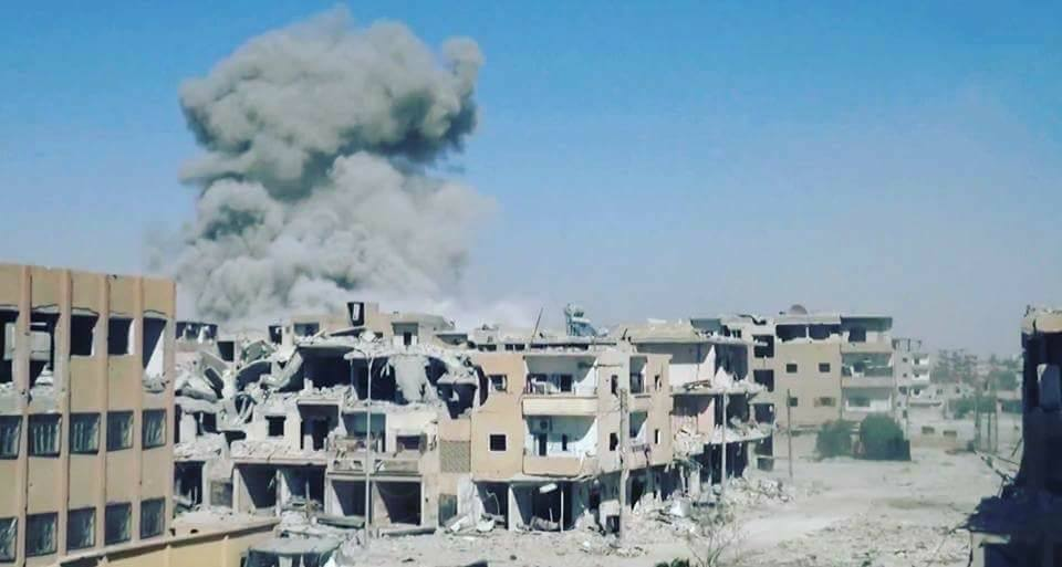 نشرة أخبار سوريا- الرقة تئن تحت قصف التحالف الدولي وميلشيا قسد، والفرقة الرابعة تتكبد المزيد من الخسائر شرق دمشق -(9-8-2017)