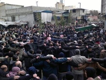 التظاهرات تنتشر في قلب دمشق متحدية الأمن