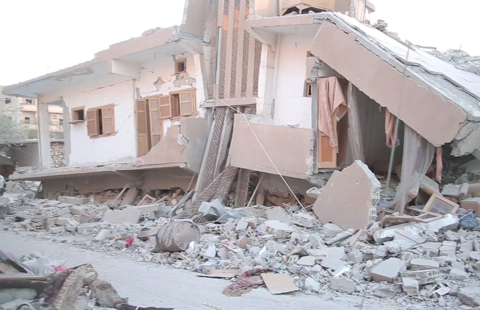 أكثر من 30 قتيلاً في مجزرة جديدة لطيران التحالف في الرقة