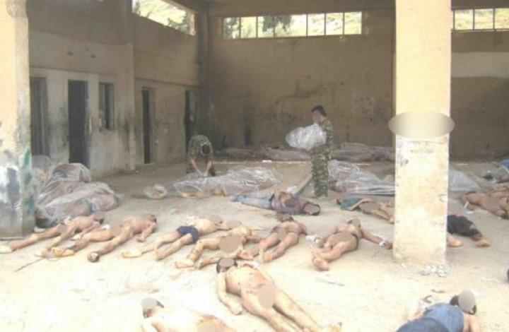 نظام الأسد: محرقة صيدنايا سيناريو هوليودي!