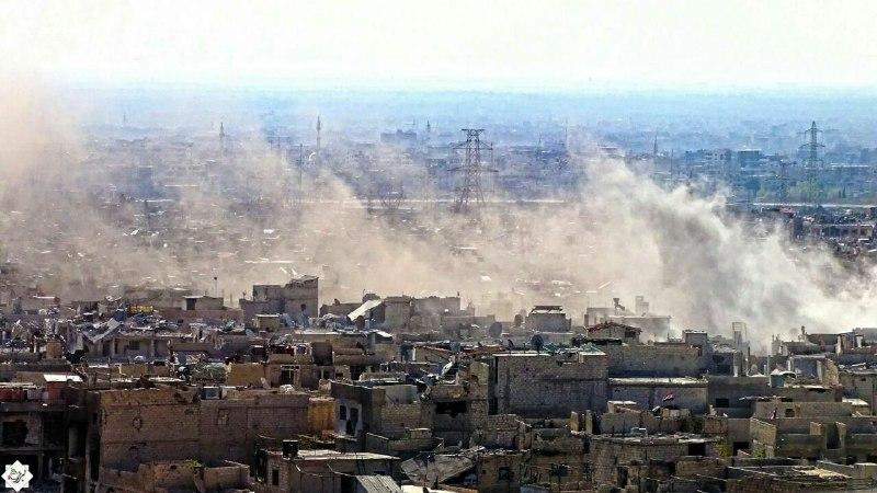 خلال أسبوع واحد.. 105 شهداء وأكثر من 300 جريح في الغوطة الشرقية