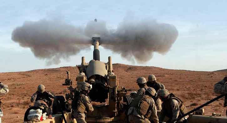 الجيش التركي يدمّر 175 موقعاً لتنظيم الدولة