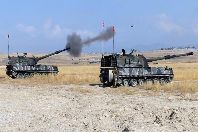 الجيش التركي: 1110 كم مربع مساحة المناطق المحررة شمال سوريا منذ بدء عملية درع الفرات