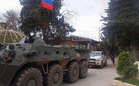 وزارة الدفاع الروسية تنفي إقامة قاعدة عسكرية في