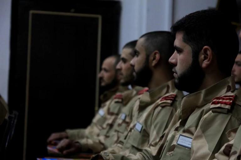 الكلية الحربية بغوطة دمشق تتحضر لتخريج دفعة أولى من الضباط
