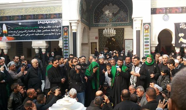 دمشق القديمة تتحول الى مندبة وملطمة.. للغرباء