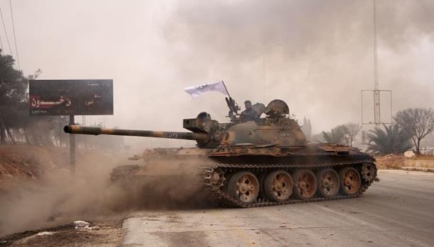 استعادة السيطرة على مواقع سيطرت عليها قوات الأسد في بلدة الريحان بريف دمشق