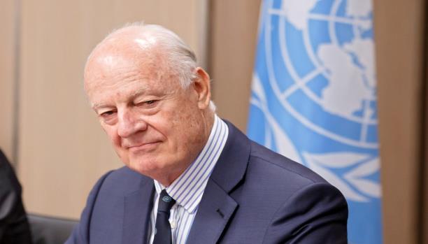 دي ميستورا بين جريمة الأسد وهزيمة المعارضة