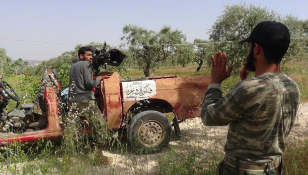 عين المعارضة السورية على سهل الغاب بعد إدلب