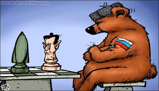 روسيا تريد سورية بدون شعبها