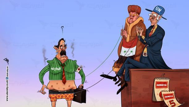 المعارضة السورية أمام معركة مصيرها