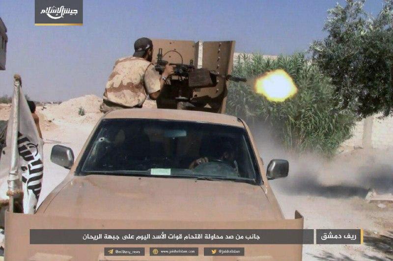 نشرة أخبار سوريا- الزنكي تعلن انشقاقها عن هيئة تحرير الشام، وجيش الإسلام يكبّد ميلشيات الأسد خسائر فادحة في الغوطة الشرقية -(20-7-2017)