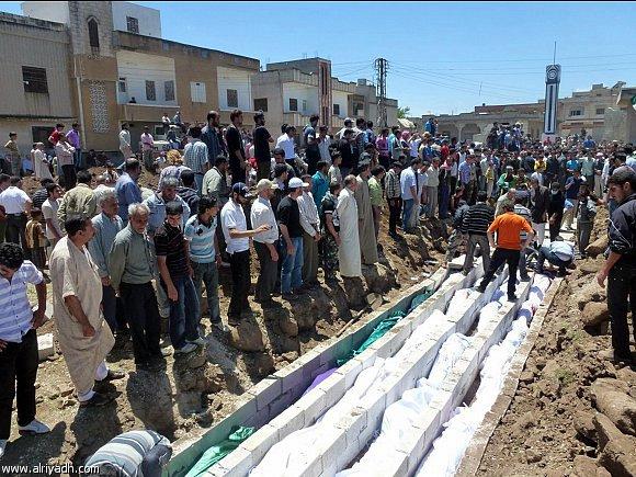 بيان عاجل إلى الثورة السورية في الداخل مجزرة الحولة