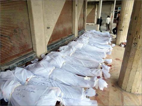 النفط أهم للغرب من القتل في سوريا
