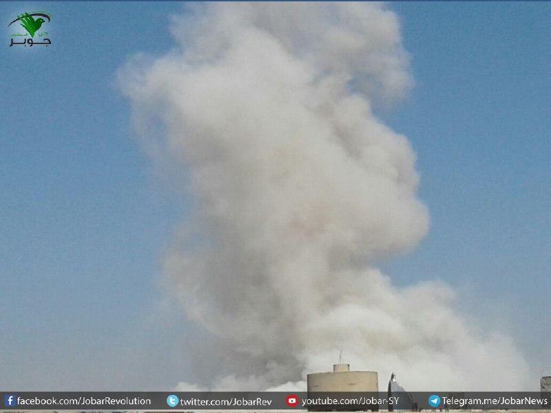 لليوم الثاني على التوالي.. قوات النظام تكثف قصفها على أحياء وبلدات دمشق