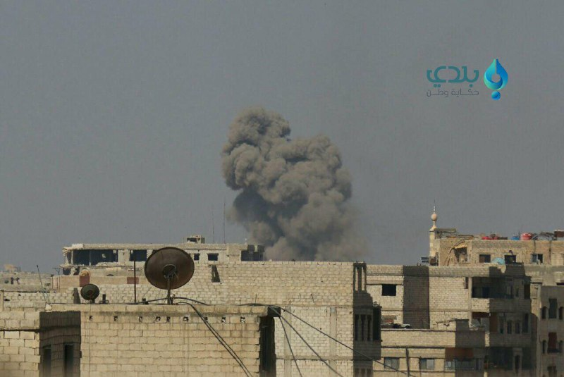 قوات النظام تكثف قصفها على أحياء وبلدات دمشق