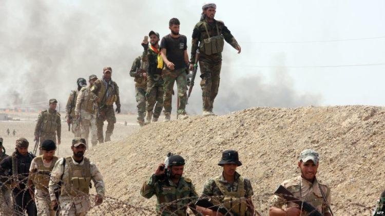الجيش العراقي يبدأ عملية للسيطرة على مناطق حدودية جنوب الفرات