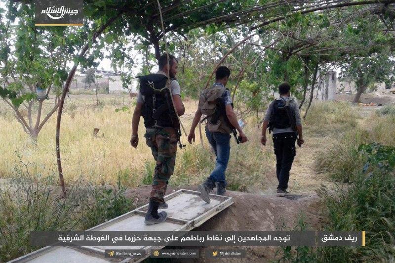 مقتل عدد من قوات النظام في محاولة تسلل فاشلة بغوطة دمشق الشرقية