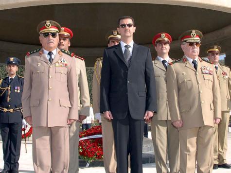 «ضربة» تعصف برجال الأسد