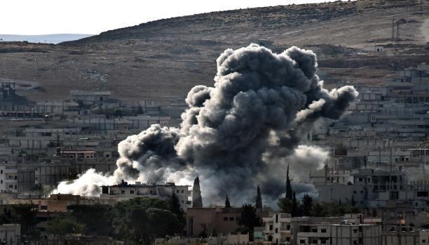 قتلى وجرحى في قصف على تفتناز بريف إدلب، والطيران الروسي يكثف غاراته على ريف حلب