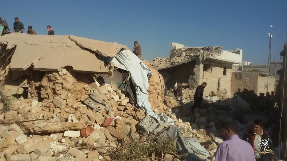 حملة القصف مستمرة على أحياء حلب وريفها