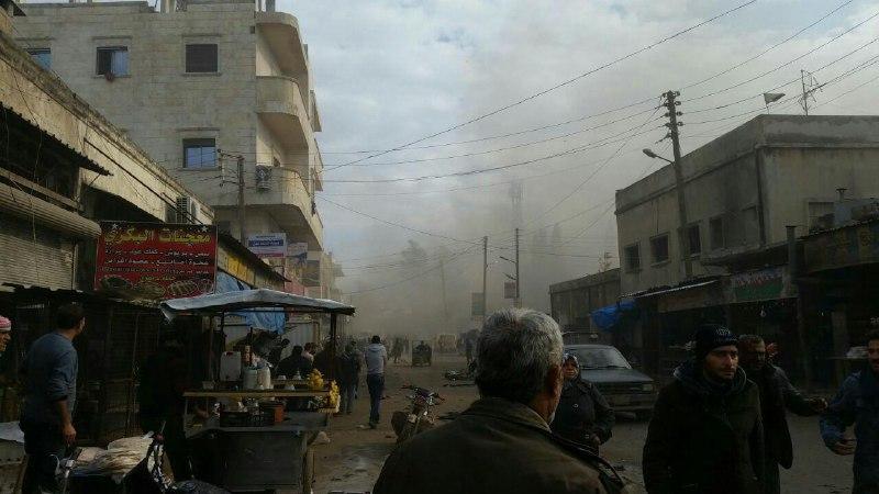 أسماء ضحايا تفجير السيارة المفخخة في مدينة إعزاز يوم أمس