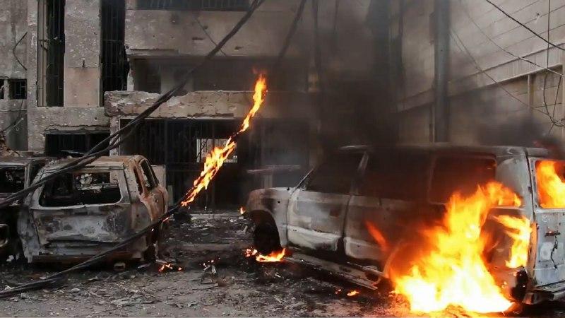 56 قتيلاً -تقبلهم الله في الشهداء- حصيلة ضحايا يوم أمس الأحد في سوريا