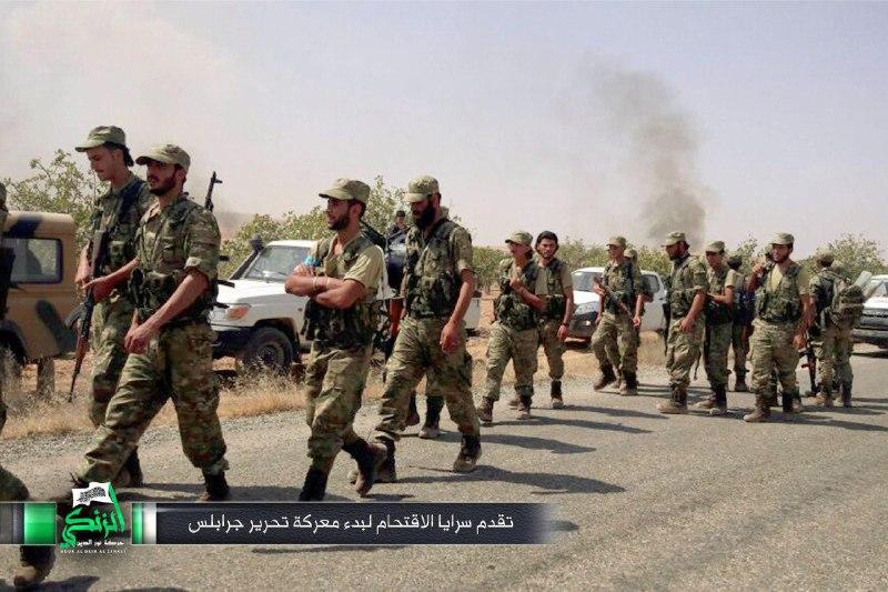 نشرة أخبار اليوم- الثوار يبدؤون اقتحام جرابلس بالتعاون مع القوات التركية، وحركة نزوح كبيرة تشهدها المدينة جراء القصف -(24-8-2016)