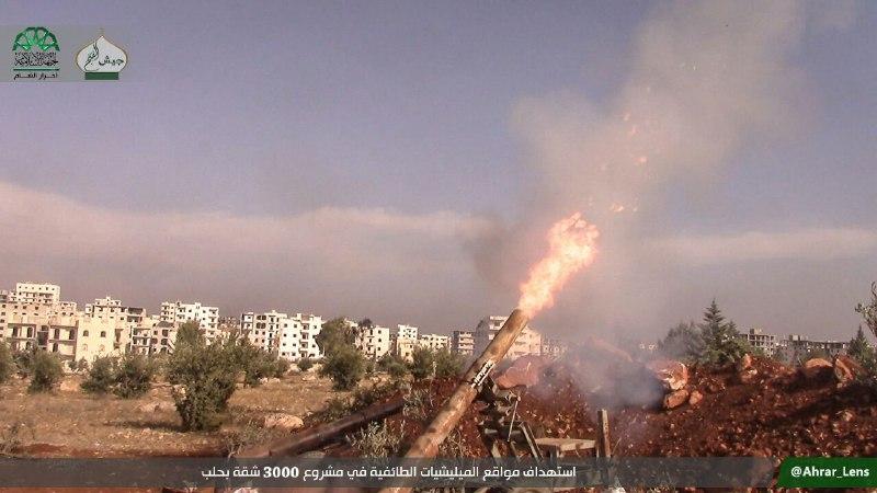 نشرة أخبار سوريا- المجاهدون يستأنفون معركة فك الحصار عن حلب ويكسرون خطوط الدفاع الأولى في حيي حلب الجديدة ومشروع 3000 شقة -(3-11-2016)