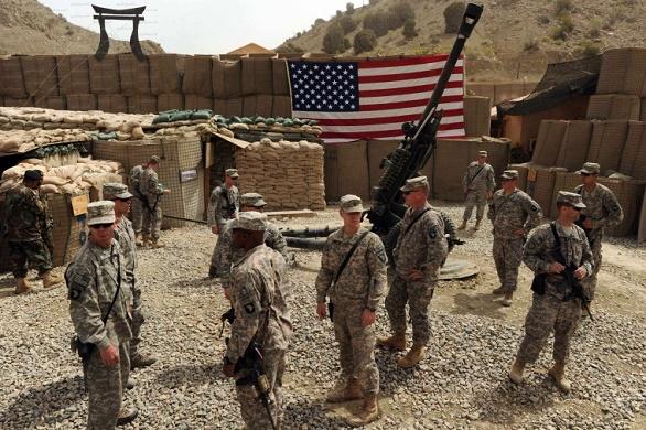 ميلشيا تابعة للنظام تهدد باستهداف القوات الأمريكية في سورية