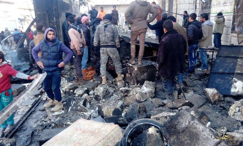 107 قتلى -تقبلهم الله في الشهداء- حصيلة ضحايا يوم أمس السبت في سوريا، معظمهم في حلب