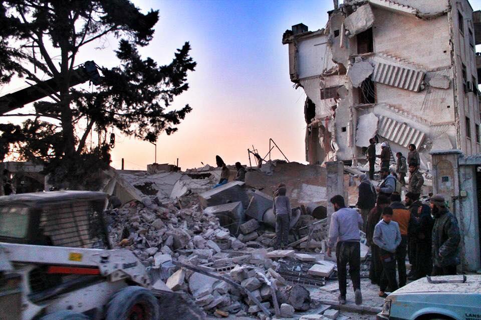 27 قتيلاً -تقبلهم الله في الشهداء- حصيلة ضحايا يوم أمس الاثنين في سوريا