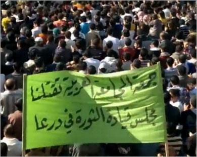 وفد عراقي بدمشق وتحذير من الطائفية