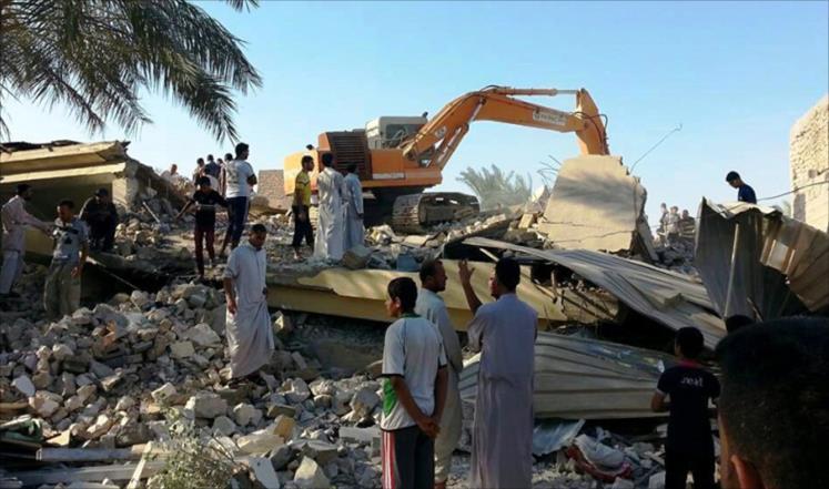352 قتيلاً مدنياً بقصف التحالف الدولي