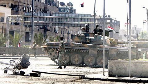 عودة عمليات الجيش الحر بقوة إلى قلب العاصمة