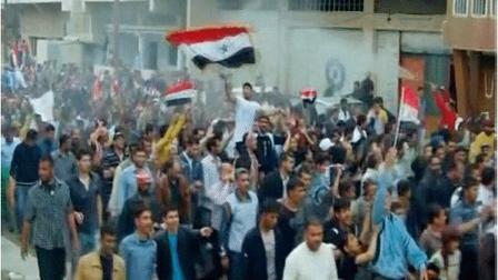 حينما اعتصمت حمص
