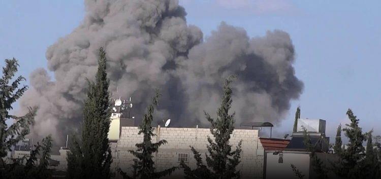 قصف جنوني من الطيران الروسي على ريفي حلب وإدلب