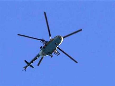 التلفزيون السوري: تحطم هليكوبتر في ضاحية بدمشق