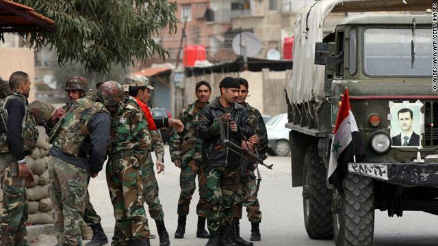 جنود سوريون: انهيار في معنويات الجيش
