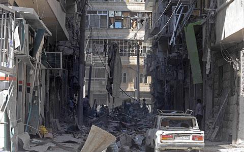 الإبراهيمي يدعو لهدنة في عيد الأضحى.. والمعارضة السورية تشكك في التزام النظام