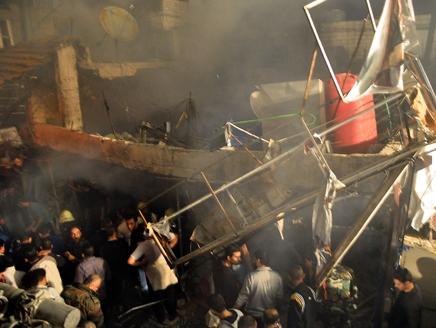 المعارضة تقصف القصر الجمهوري والمخابرات في دمشق