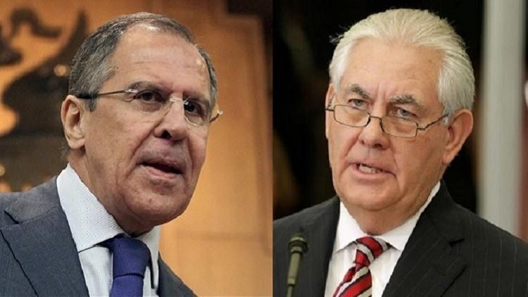 وزيرا خارجية روسيا وأميركا يبحثان اتفاق