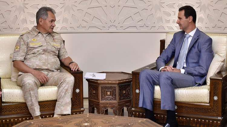 وزير الدفاع الروسي في دمشق بأمر من بوتين