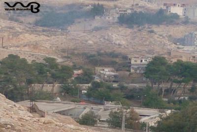 تحذيرات من كارثة مائية في  وادي بردي بريف دمشق