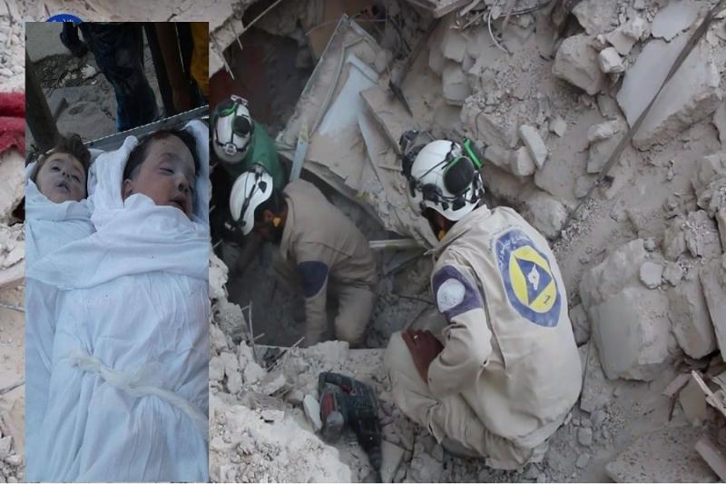 58 قتيلاً -تقبلهم الله في الشهداء- حصيلة ضحايا قصف الطيران الروسي الأسدي يوم أمس الخميس